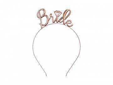 Headband Bride, rose gold