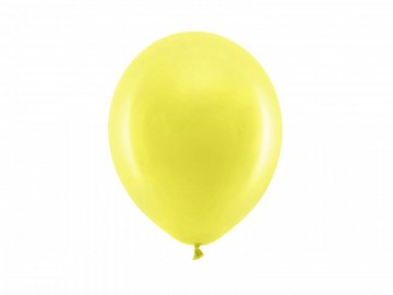 Rainbow Balloons 23cm pastel, yellow (1 pkt / 100 pc.)