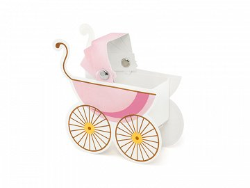 Boxes Pram, pink (1 pkt / 10 pc.)
