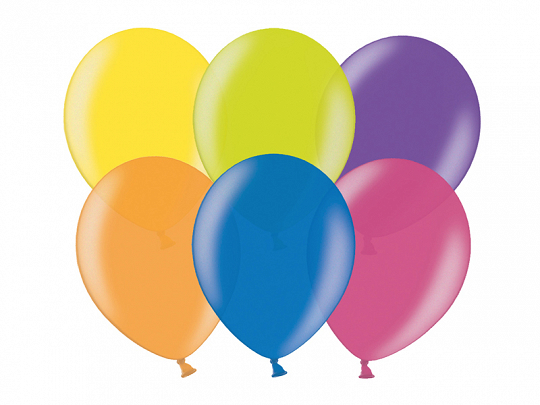 Celebration Balloons 25cm, mix (1 pkt / 100 pc.)