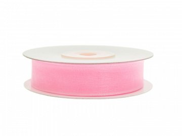 Chiffon Ribbon, light pink, 12mm/25m (1 pc. / 25 lm)