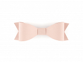 Paper decorations Bows, powder pink (1 pkt / 6 pc.)