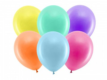 Rainbow Balloons 30cm pastel, mix (1 pkt / 100 pc.)