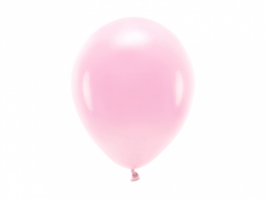 Eco Balloons 26cm pastel, light pink (1 pkt / 10 pc.)