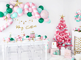 Foil balloon Candy cane, 50x82cm, pink