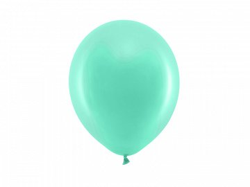 Rainbow Balloons 23cm pastel, mint (1 pkt / 100 pc.)