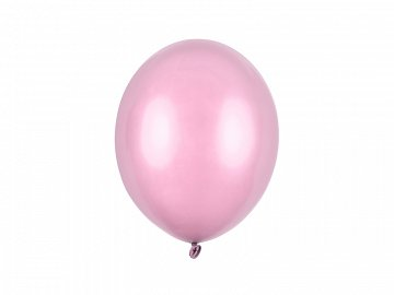Balony Strong 27cm, Metallic Candy Pink (1 op. / 100 szt.)