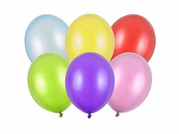 Balony Strong 27cm, Metallic Mix (1 op. / 100 szt.)