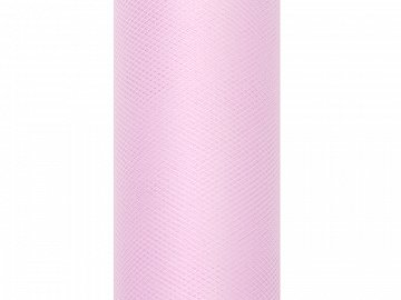 Tulle Plain, light pink, 0.8 x 9m