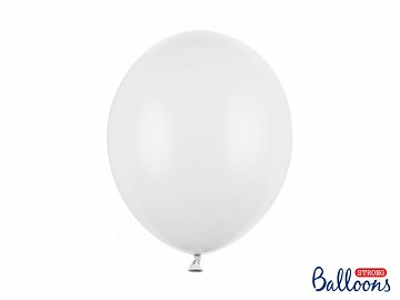 Balony Strong 30cm, Pastel Pure White (1 op. / 50 szt.)