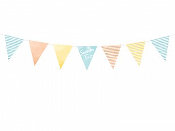 Bunting Summer time, 1.3m (1 ctn / 50 pc.)