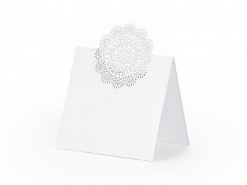 Place Cards Rosette, 6.3 x 6cm (1 pkt / 10 pc.)