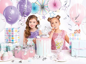 Party decorations set - Unicorn (1 ctn / 6 pkt)