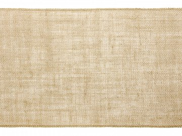 Burlap table runner, 0.28x5m