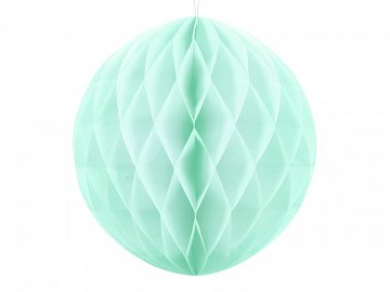 Honeycomb Ball, light mint, 20cm