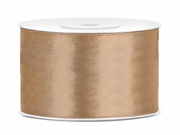 Satin Ribbon, light gold, 38mm/25m (1 pc. / 25 lm)