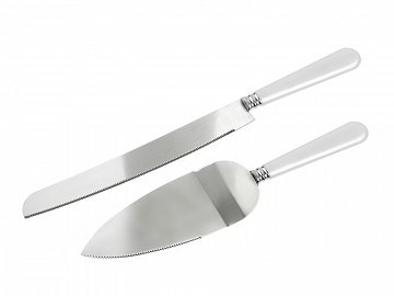 Cake knife and a server (1 pkt / 2 pc.)