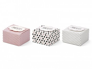 Boxes with a cloud Sweets, mix, 6 x 5.5 x 4cm (1 pkt / 6 pc.)