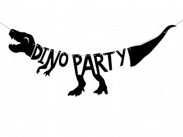 Banner Dinosaurs - Dino Party, 20x90 cm (1 ctn / 70 pc.)