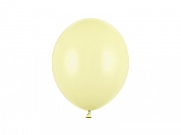 Strong Balloons 27cm, Pastel Light Yellow  (1 pkt / 100 pc.)