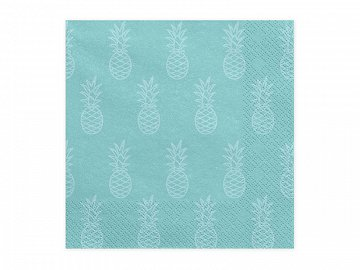 Napkins Aloha - Pineapple, 33x33cm (1 pkt / 20 pc.)