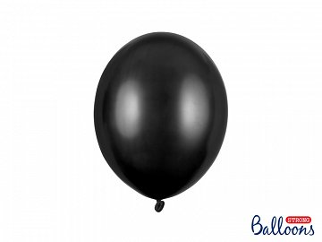 Balony Strong 27cm, Metallic Black (1 op. / 10 szt.)