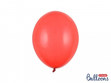 Balony Strong 27cm, Crystal Poppy Red (1 op. / 100 szt.)