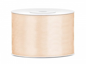 Satin Ribbon, cream, 50mm/25m (1 pc. / 25 lm)