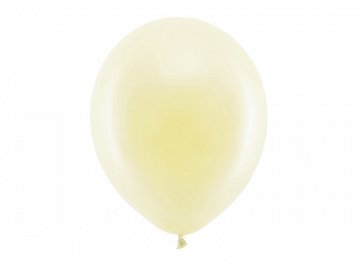 Rainbow Balloons 30cm pastel, cream (1 pkt / 100 pc.)