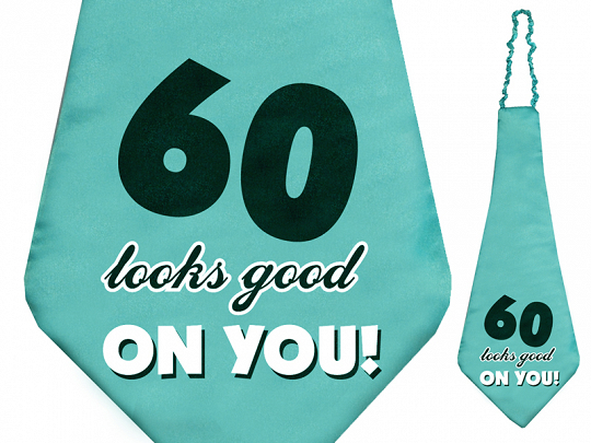 Krawat 60 looks good on you!, 59cm