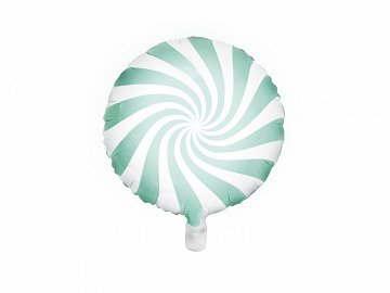 Foil Balloon Candy, 45cm, mint