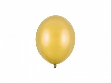 Strong Balloons 12cm, Metallic Gold (1 pkt / 100 pc.)
