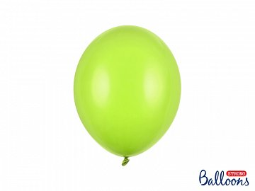 Strong Balloons 27cm, Pastel Lime Green (1 pkt / 10 pc.)
