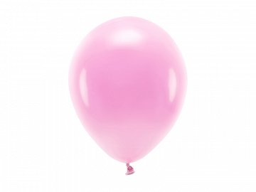 Eco Balloons 26cm pastel, pink (1 pkt / 10 pc.)
