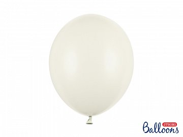 Strong Balloons 30cm, Pastel Light Cream (1 pkt / 10 pc.)