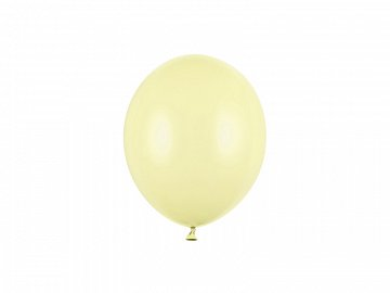 Balony Strong 12cm, Pastel Light Yellow  (1 op. / 100 szt.)