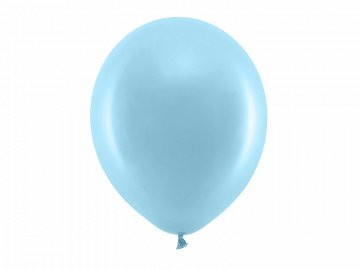 Rainbow Balloons 30cm pastel, light blue (1 pkt / 100 pc.)