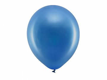 Rainbow Balloons 30cm metallic, navy blue (1 pkt / 100 pc.)