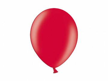 Balony 12'', Metallic Cherry Red (1 op. / 100 szt.)