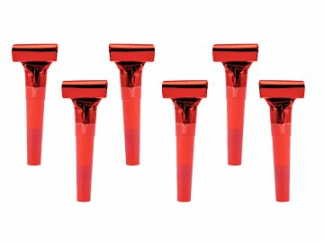 Whistles, red (1 pkt / 6 pc.)