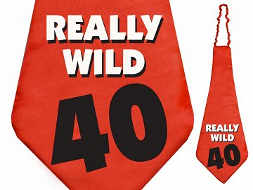 Krawat Really wild 40, 59cm (1 karton / 40 szt.)