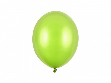 Balony Strong 27cm, Metallic Lime Green (1 op. / 100 szt.)