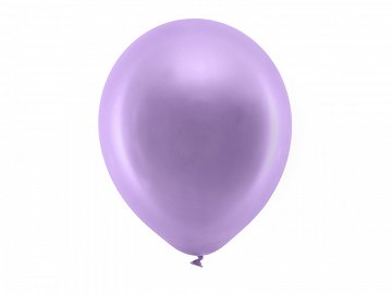 Rainbow Balloons 30cm metallic, violet (1 pkt / 100 pc.)