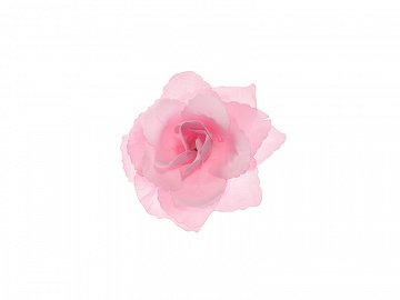 Roses, self-adhesive, pink, 9cm (1 pkt / 24 pc.)