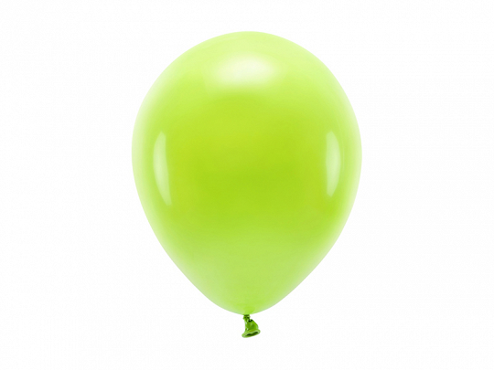 Eco Balloons 26cm pastel, green apple (1 pkt / 100 pc.)