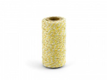 Baker's Twine, yellow, 50m