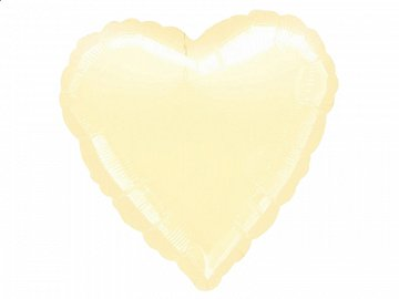 Microfoil balloon 18'' HRT, cream