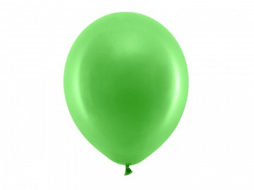 Rainbow Balloons 30cm pastel, green (1 pkt / 100 pc.)