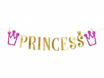 Banner Princess, 13.5x90 cm (1 ctn / 60 pc.)