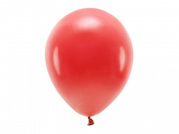Eco Balloons 30cm pastel, red (1 pkt / 10 pc.)